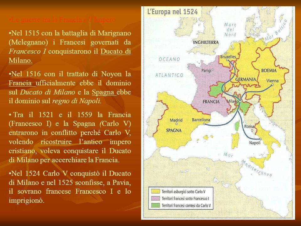 Le guerre tra la Francia e l'Impero