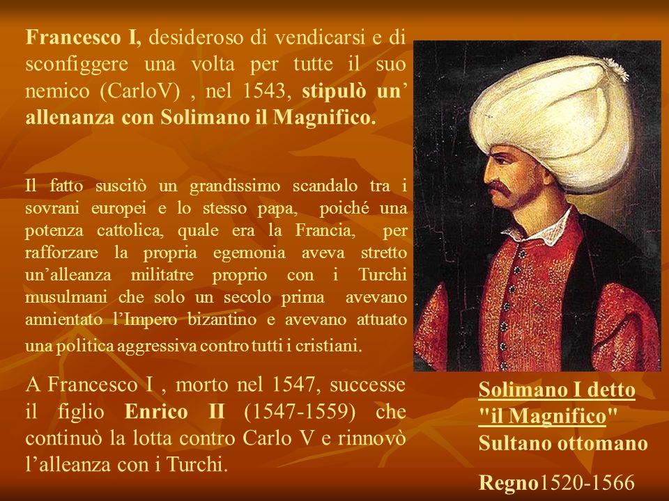 Solimano I detto il Magnifico Sultano ottomano