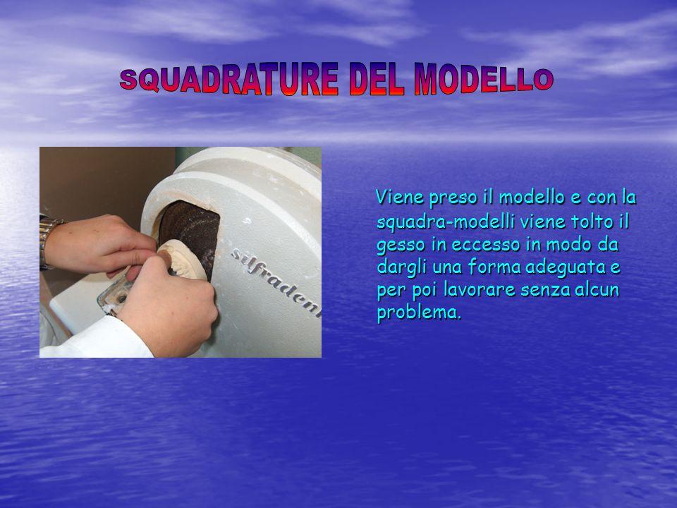 SQUADRATURE DEL MODELLO