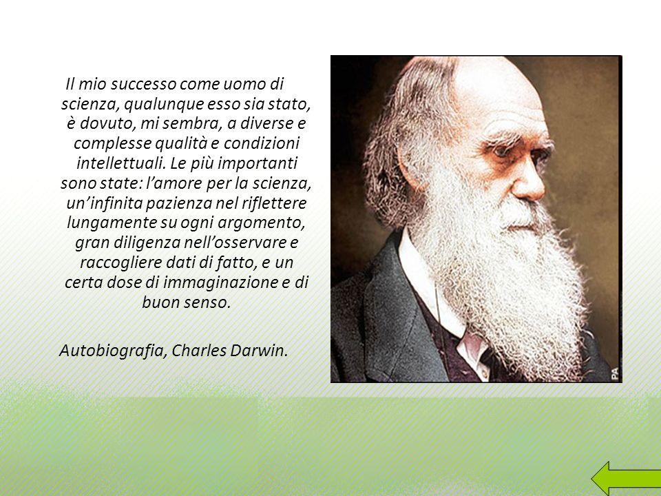 Autobiografia, Charles Darwin.