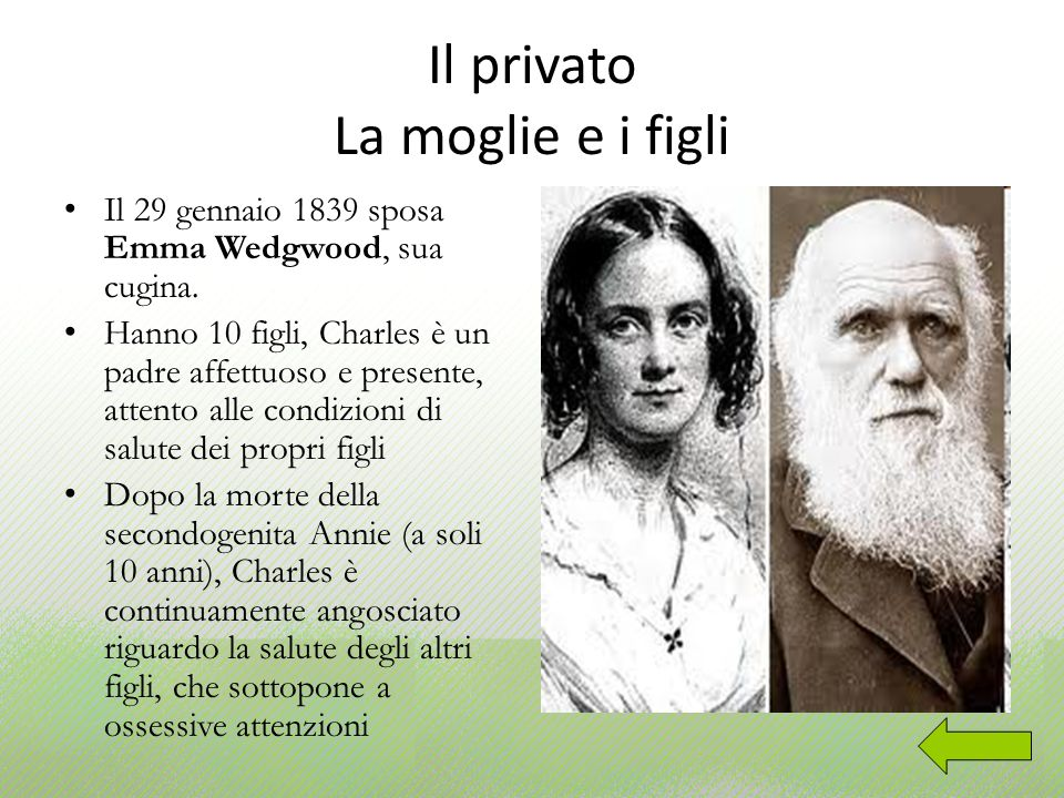 Il privato La moglie e i figli