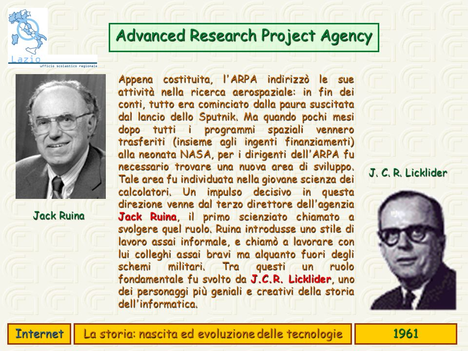 Advanced Research Project Agency