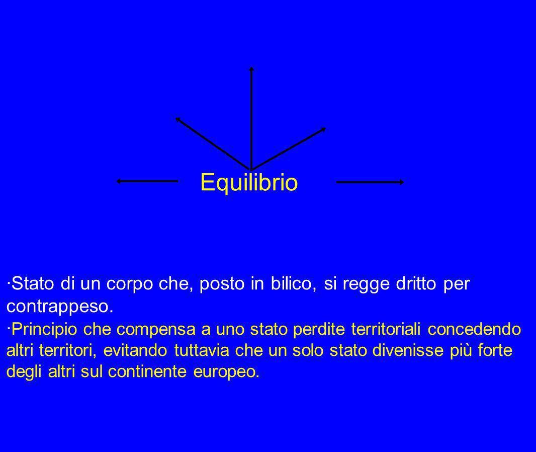 Equilibrio ·Stato di un corpo che, posto in bilico, si regge dritto per contrappeso.
