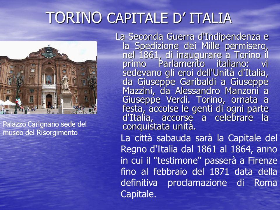 TORINO CAPITALE D' ITALIA