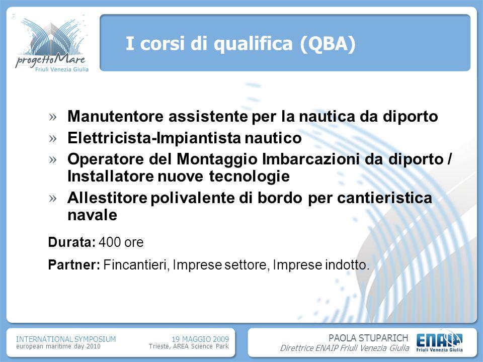 I corsi di qualifica (QBA)