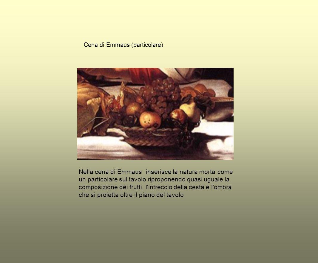 Cena di Emmaus (particolare)