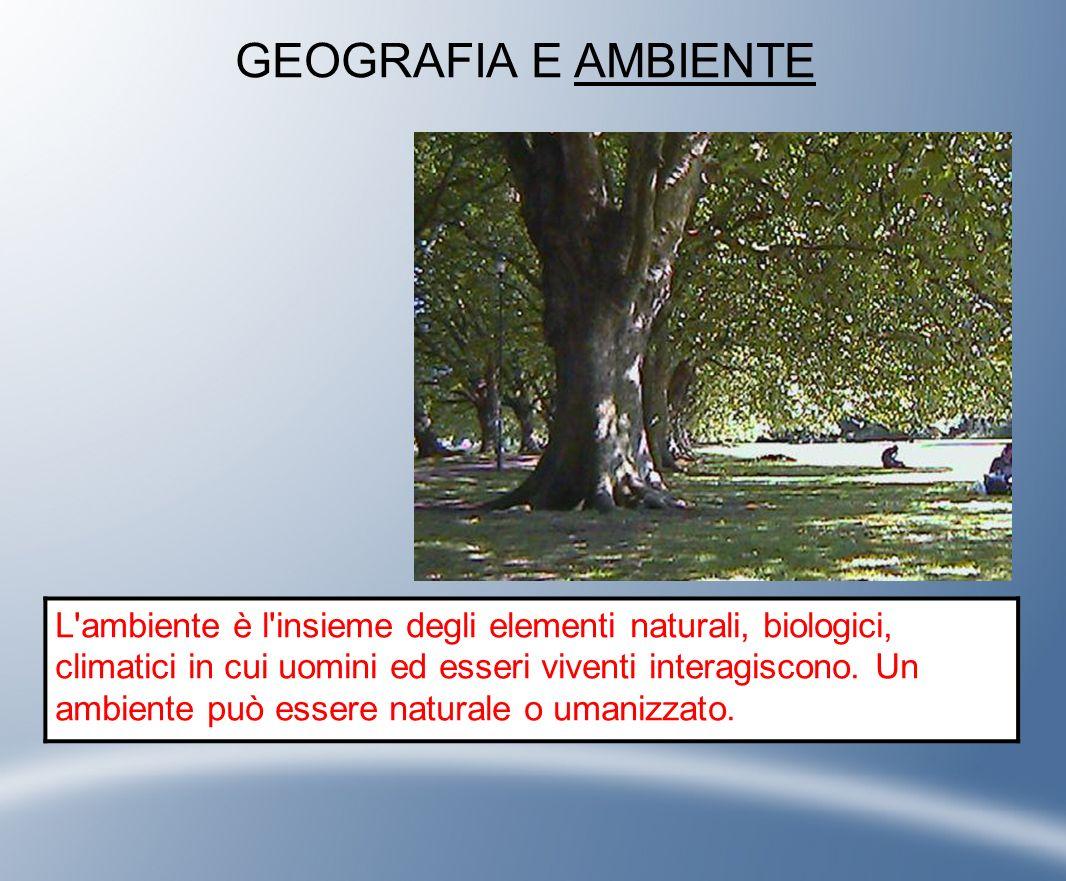 GEOGRAFIA E AMBIENTE