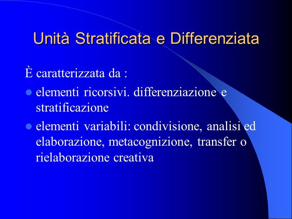 Unità Stratificata e Differenziata