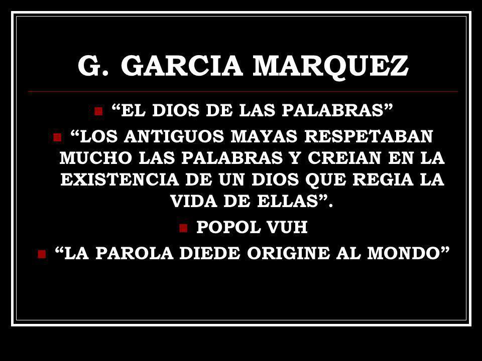 EL DIOS DE LAS PALABRAS LA PAROLA DIEDE ORIGINE AL MONDO