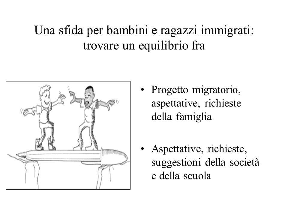 Una sfida per bambini e ragazzi immigrati: trovare un equilibrio fra
