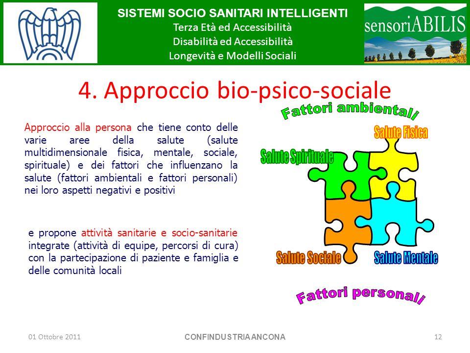 4. Approccio bio-psico-sociale
