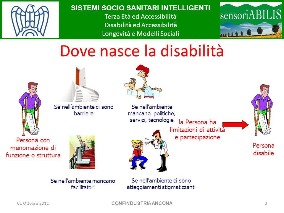 Dove nasce la disabilità