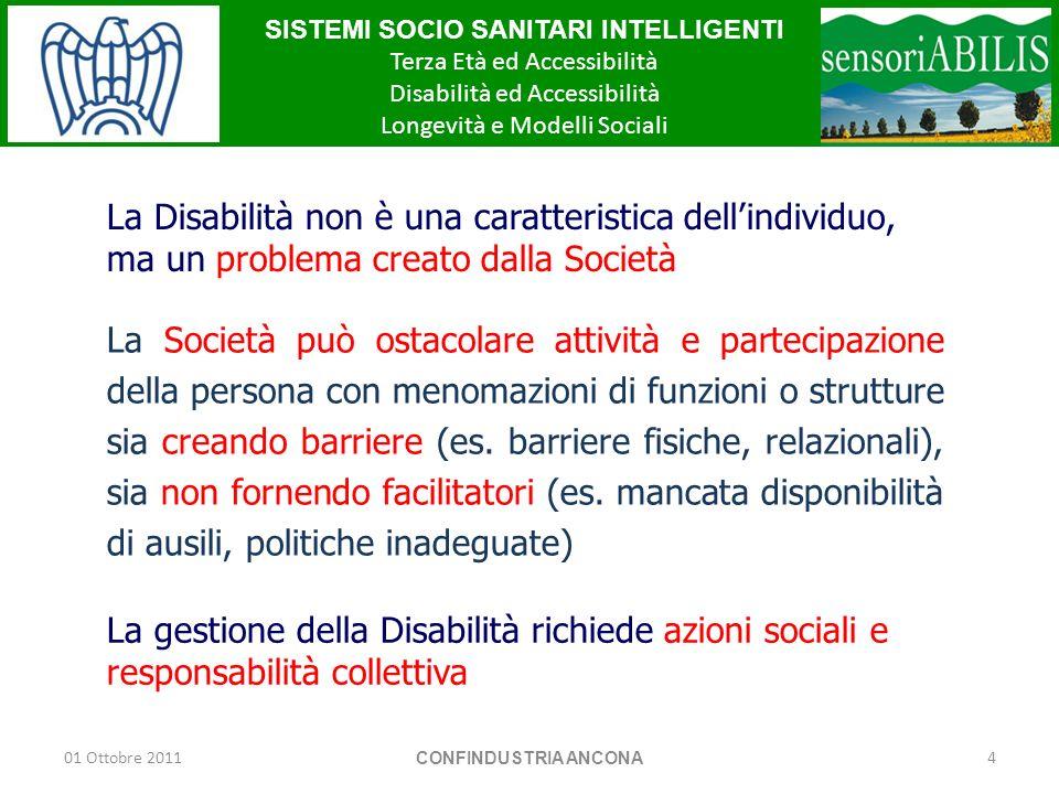 La Disabilità non è una caratteristica dell'individuo, ma un problema creato dalla Società