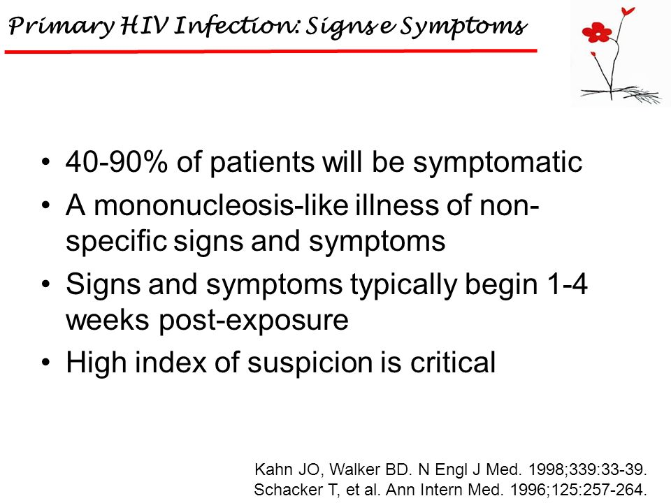 Primary HIV Infection: Signs e Symptoms