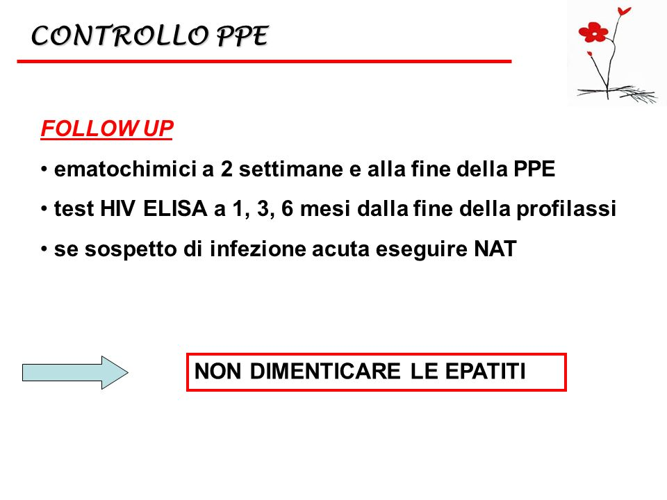 CONTROLLO PPE FOLLOW UP