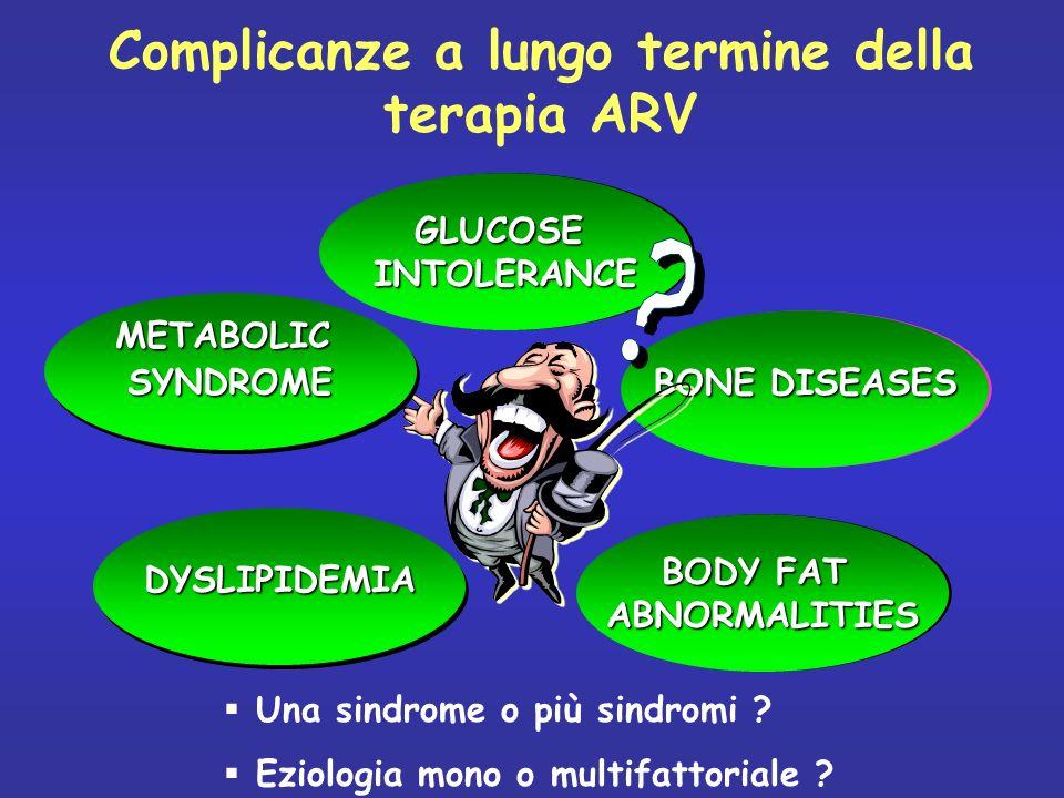 Complicanze a lungo termine della terapia ARV