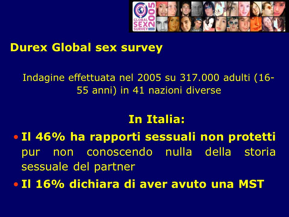 Durex Global sex survey