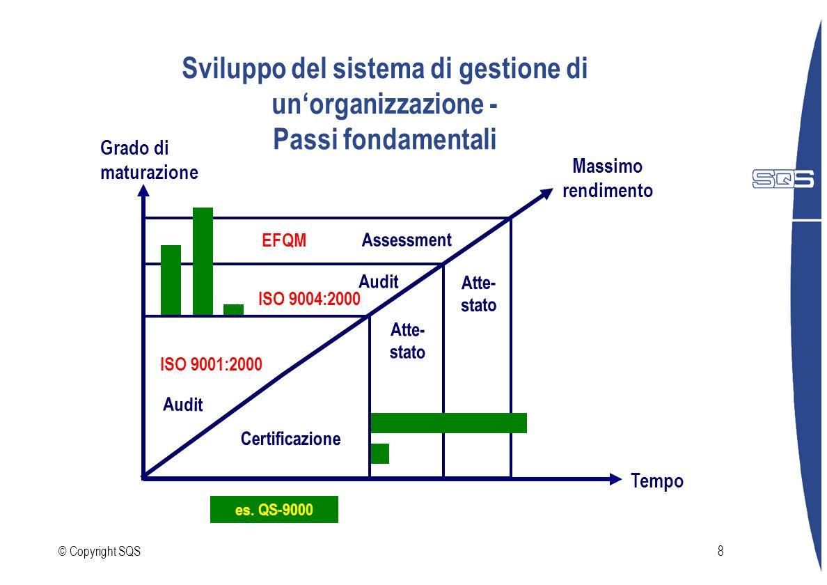 Sviluppo del sistema di gestione di un'organizzazione - Passi fondamentali