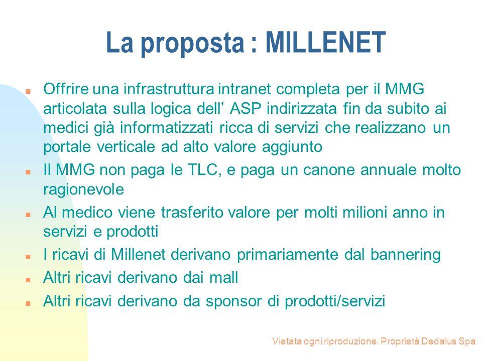 La proposta : MILLENET