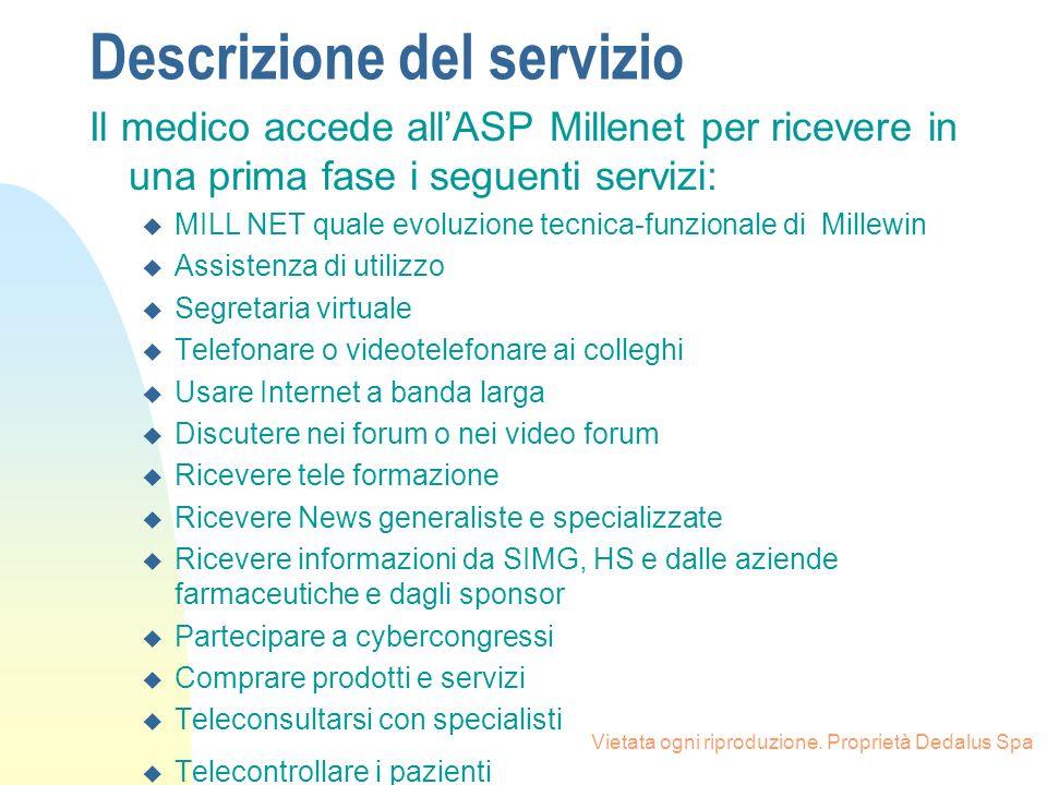 Descrizione del servizio