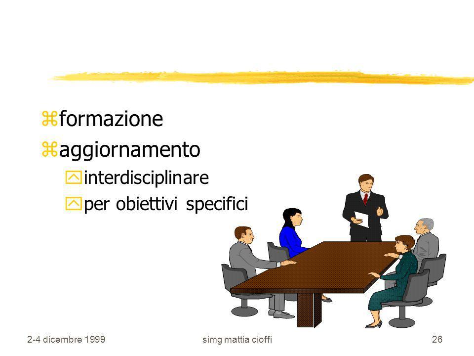 formazione aggiornamento interdisciplinare per obiettivi specifici