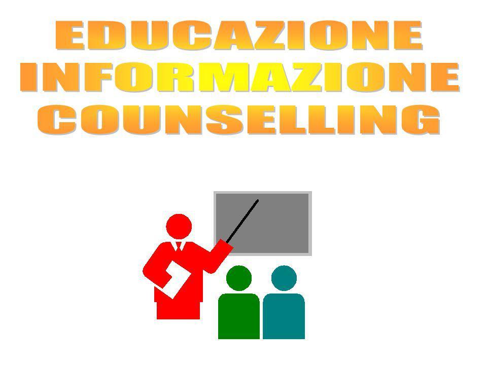 EDUCAZIONE INFORMAZIONE COUNSELLING
