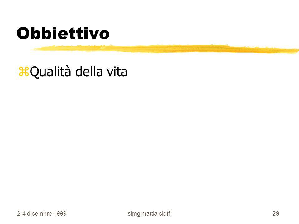 Obbiettivo Qualità della vita 2-4 dicembre 1999 simg mattia cioffi