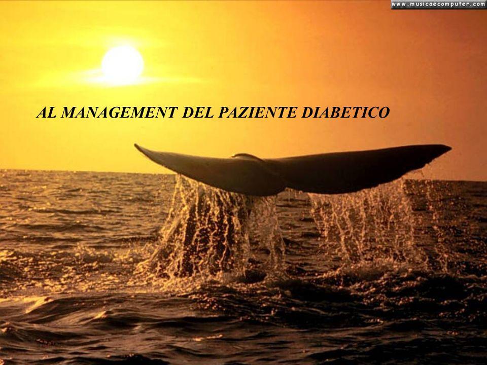 AL MANAGEMENT DEL PAZIENTE DIABETICO