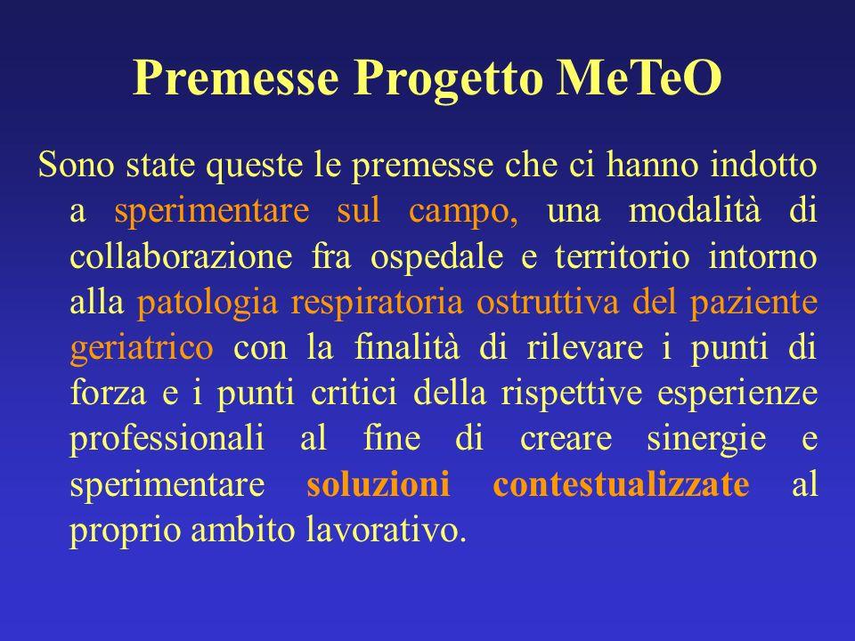 Premesse Progetto MeTeO