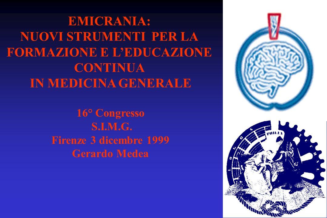 FORMAZIONE E L'EDUCAZIONE CONTINUA IN MEDICINA GENERALE