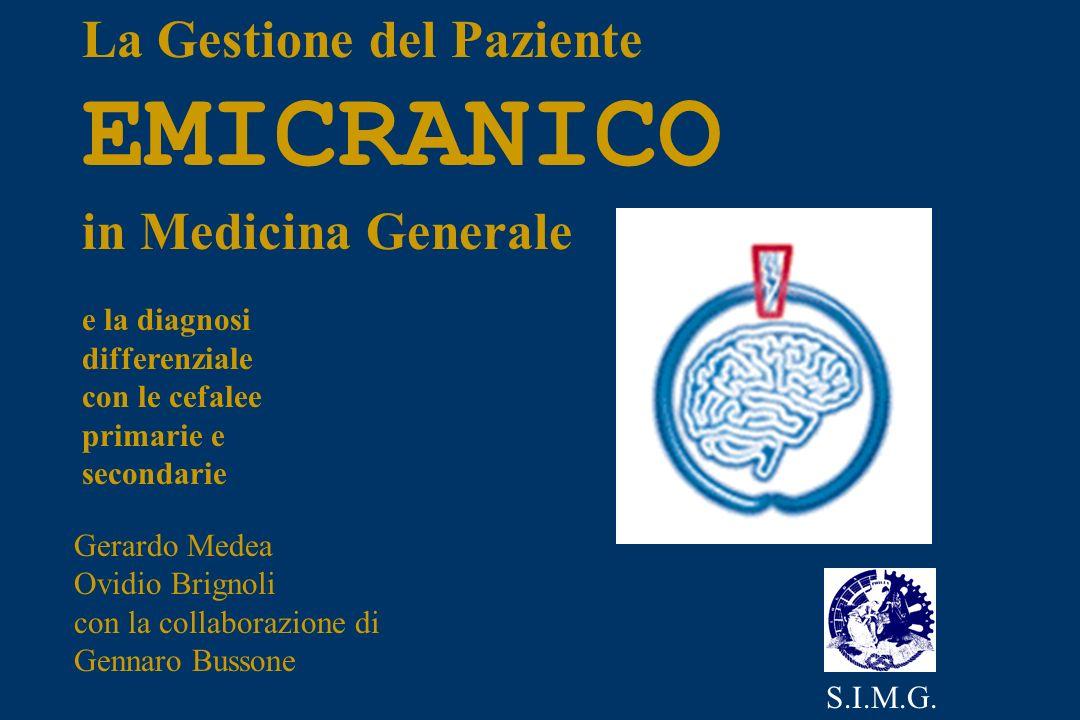 EMICRANICO La Gestione del Paziente in Medicina Generale e la diagnosi