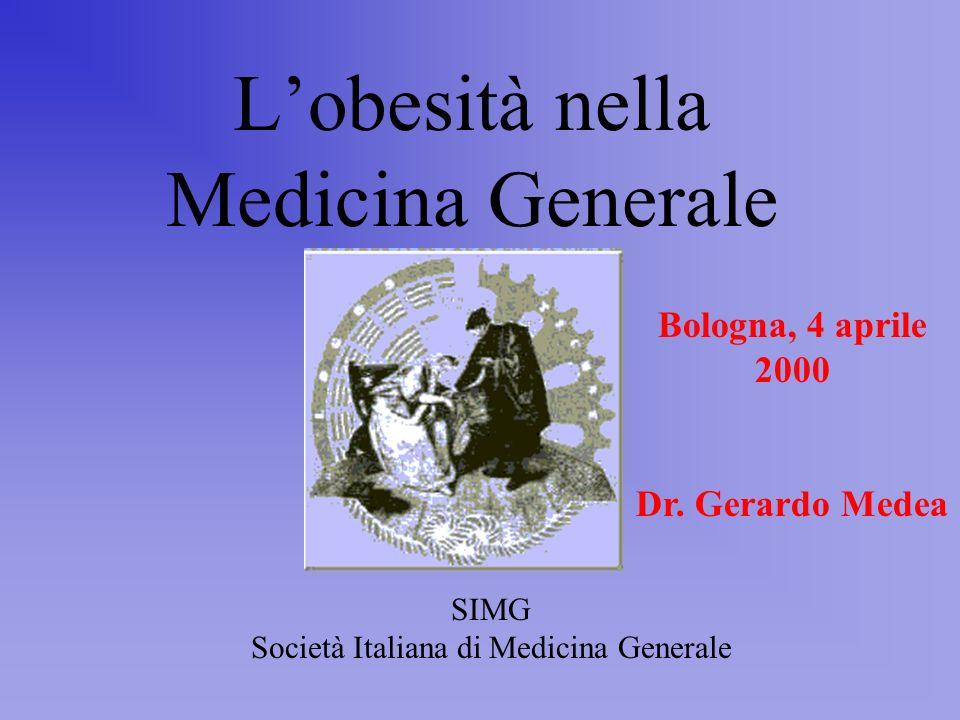 L'obesità nella Medicina Generale