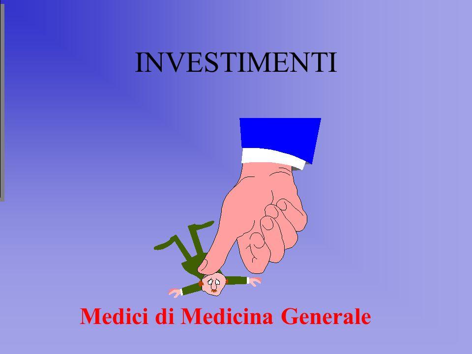 INVESTIMENTI Medici di Medicina Generale