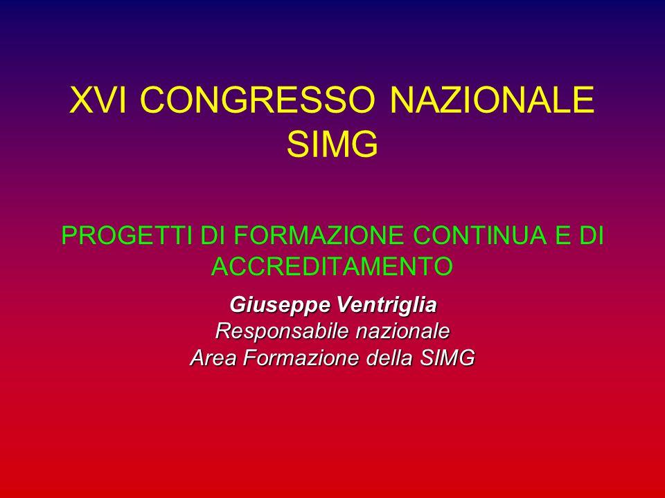 XVI CONGRESSO NAZIONALE SIMG