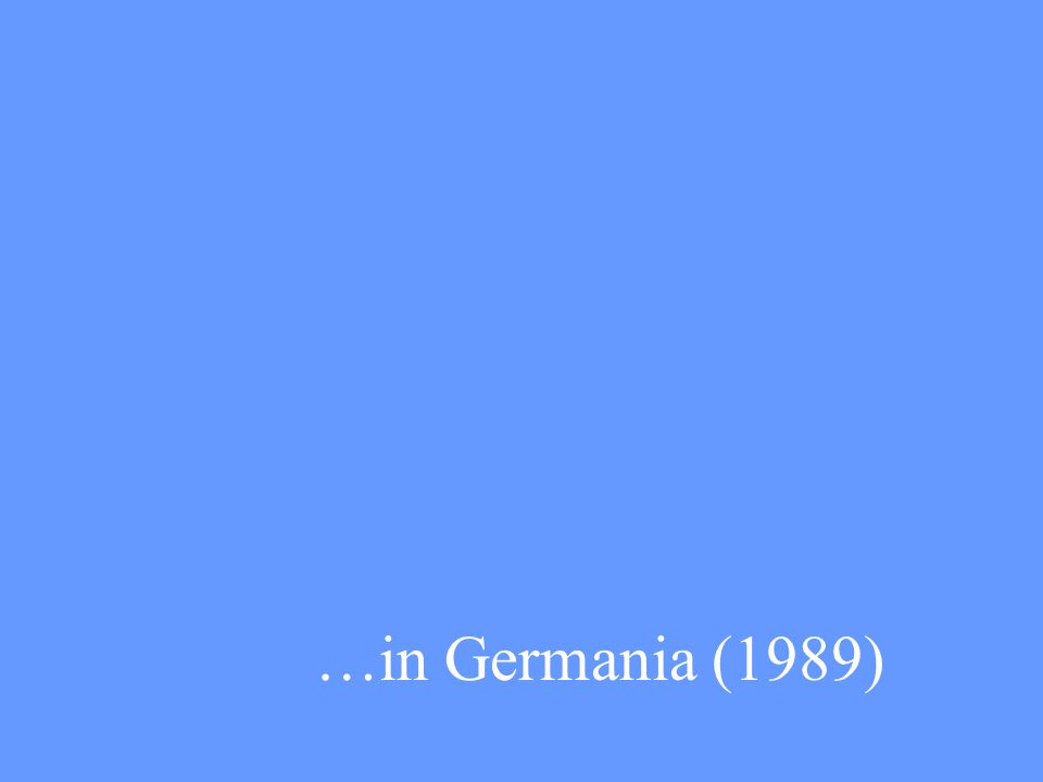 …in Germania (1989)