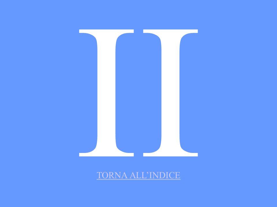 II TORNA ALL'INDICE