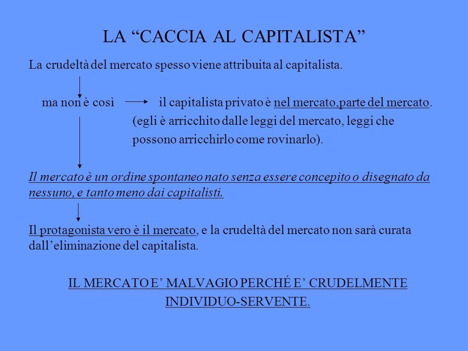 LA CACCIA AL CAPITALISTA