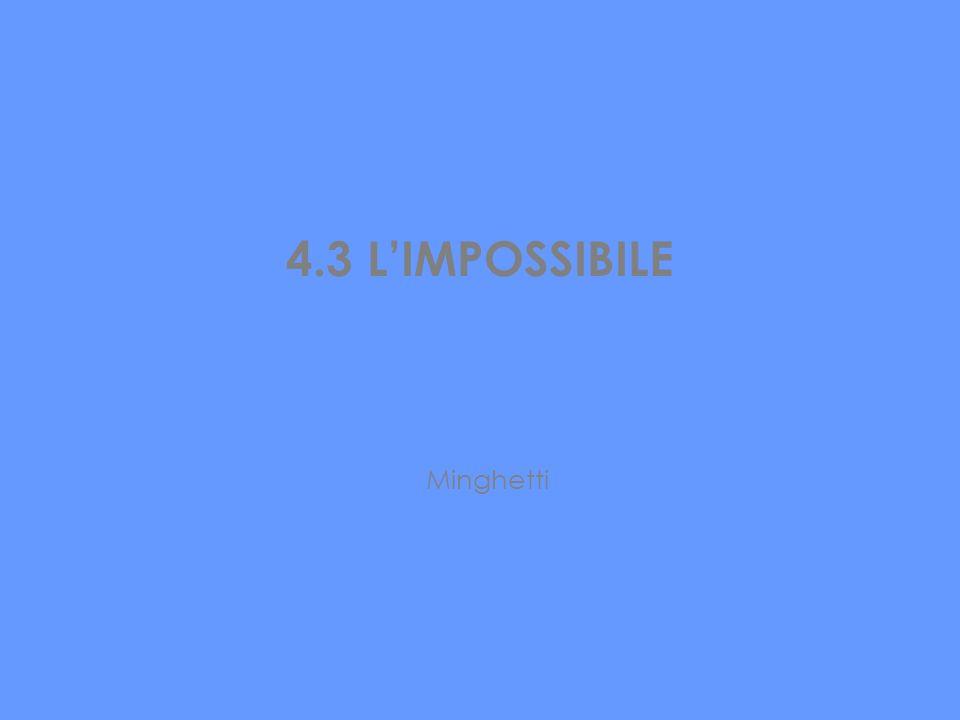 4.3 L'IMPOSSIBILE Minghetti