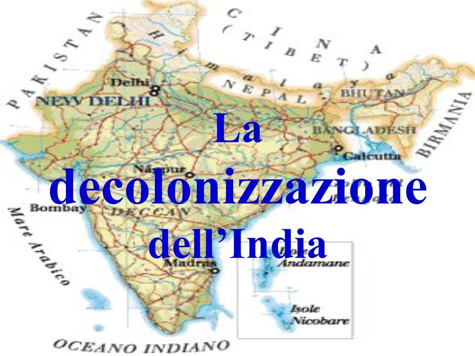 La decolonizzazione dell'India