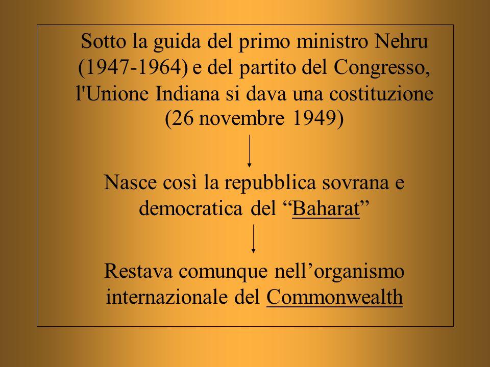 Nasce così la repubblica sovrana e democratica del Baharat