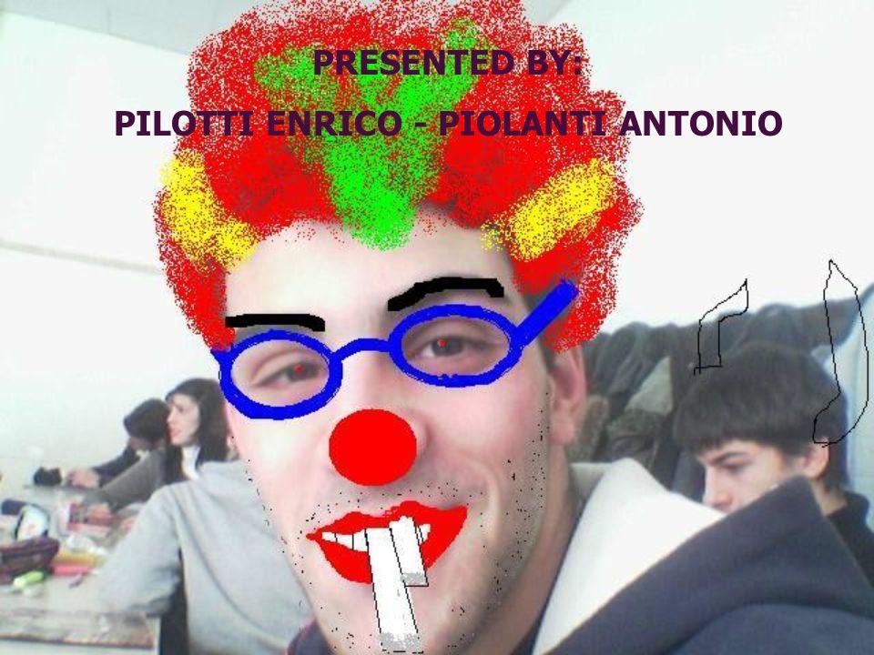 PILOTTI ENRICO - PIOLANTI ANTONIO
