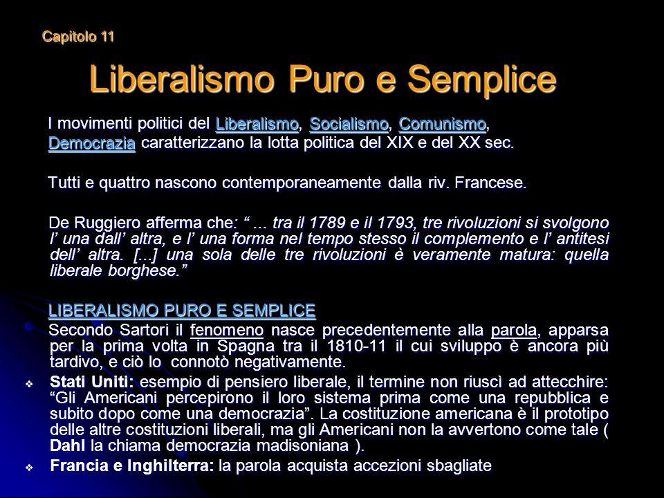 Liberalismo Puro e Semplice