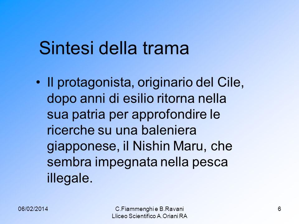 C.Fiammenghi e B.Ravani Lliceo Scientifico A.Oriani RA
