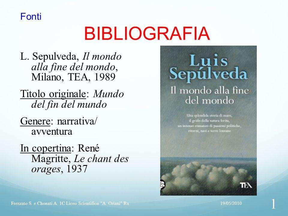 Fonti BIBLIOGRAFIA