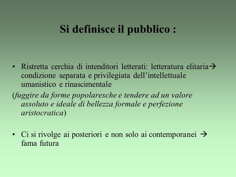 Si definisce il pubblico :