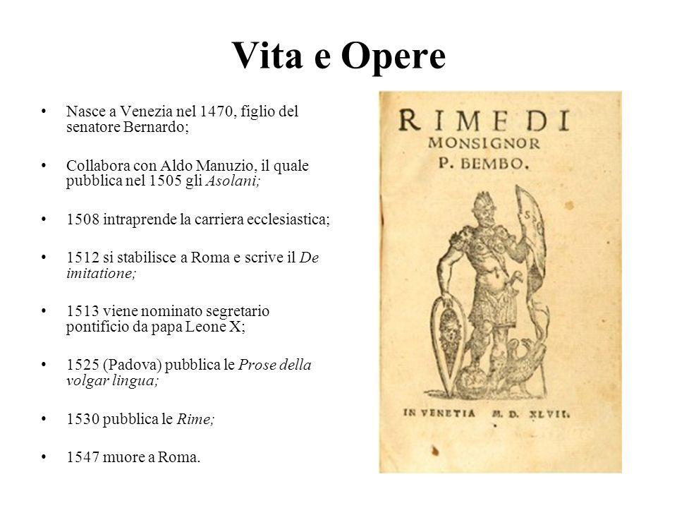 Vita e Opere Nasce a Venezia nel 1470, figlio del senatore Bernardo;