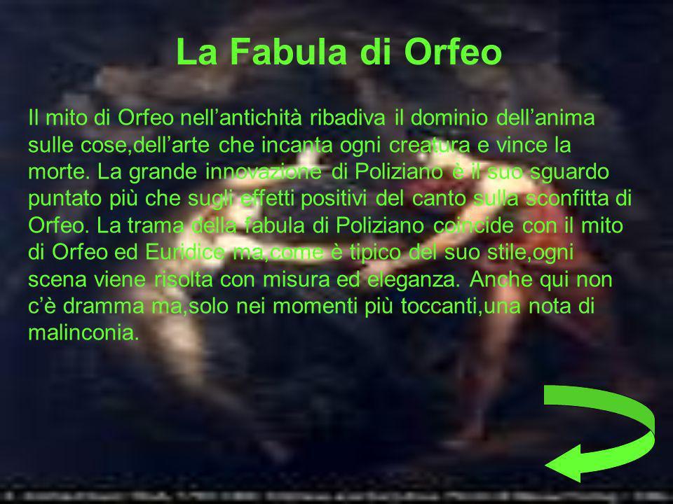 La Fabula di Orfeo