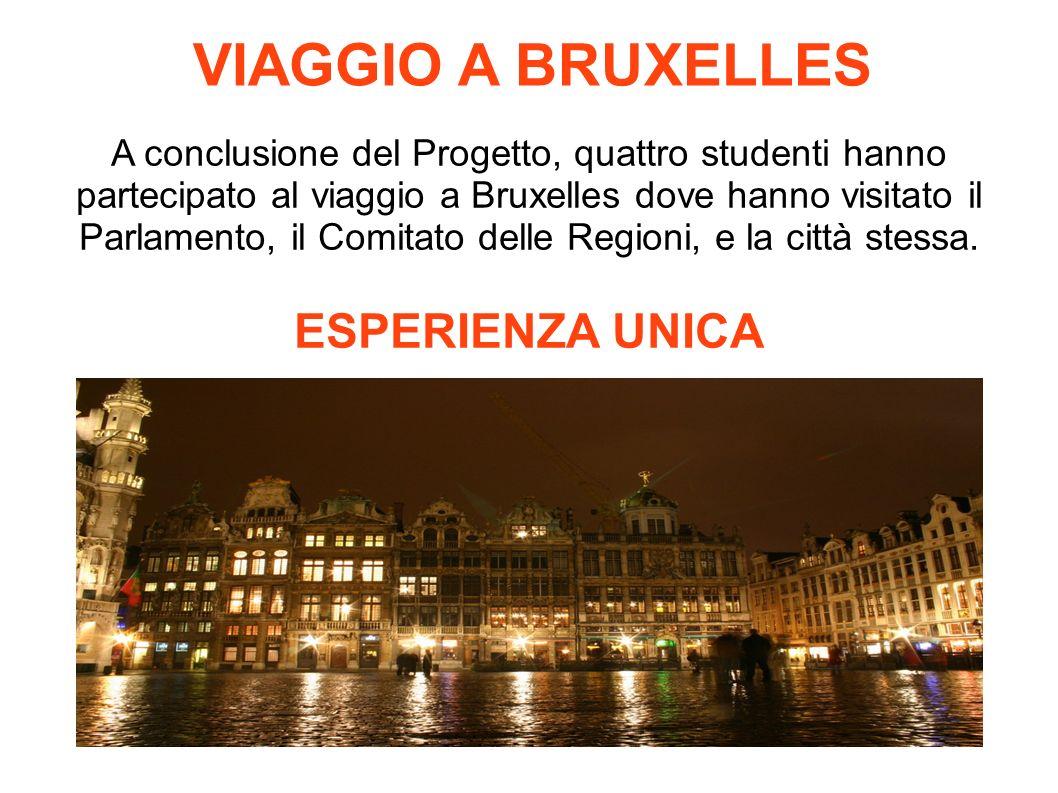 VIAGGIO A BRUXELLES ESPERIENZA UNICA