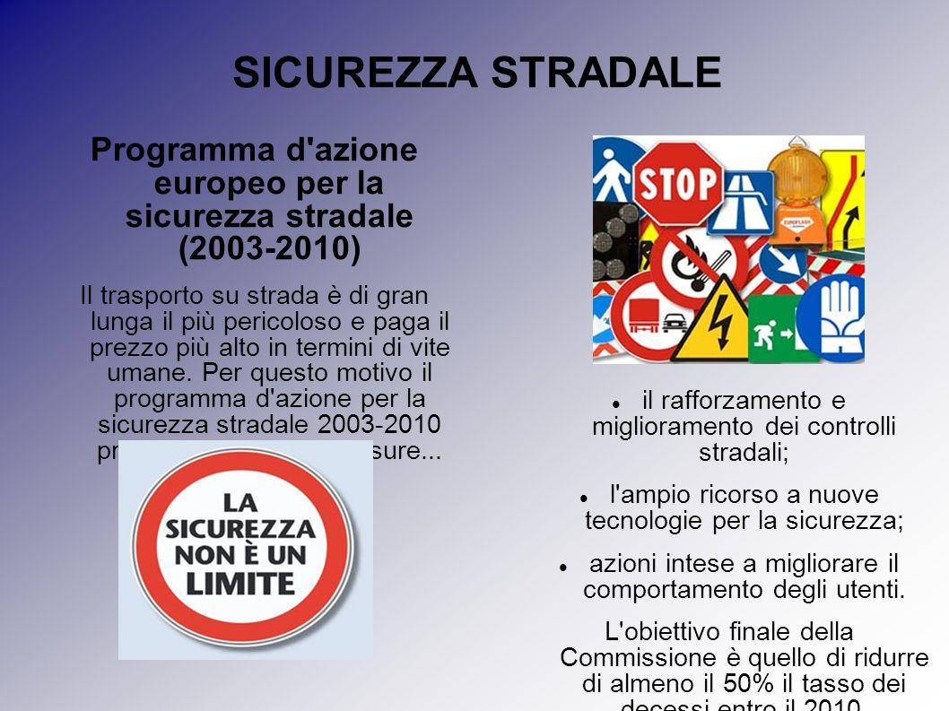 Programma d azione europeo per la sicurezza stradale (2003-2010)