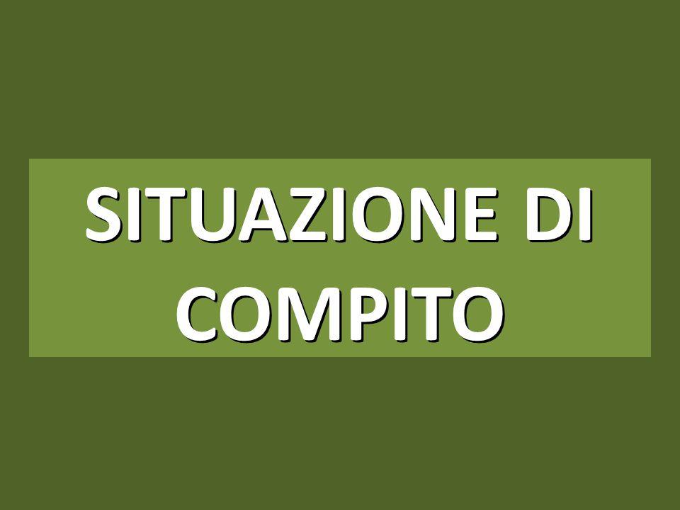 SITUAZIONE DI COMPITO 1
